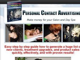 Go to: Fast Profit Generating System For Salon And Spa Owners 50% Rec. Comm.