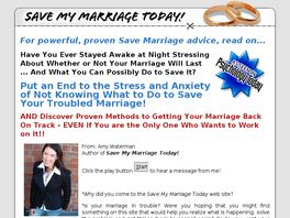 Go to: Save My Marriage Today - Now Make Recurring Commissions!