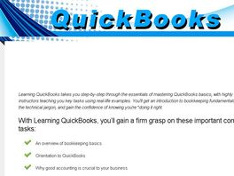 Go to: Learn Quickbooks Online - Tutorials **new