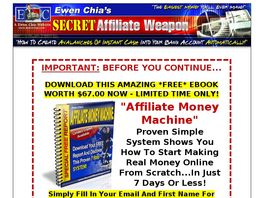 Go to: Secret Affiliate Weapon 2.0 - Passive Income Secrets!