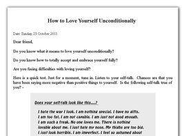 Go to: Self Love Secrets: How To Love Yourself Unconditionally
