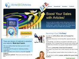 Go to: Learn To Write SEO Articles.