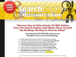 Go to: Brand New Video Series! Hot SEO Niche!