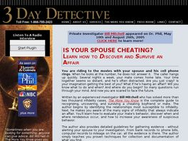 Go to: Investigate Infidelity Now