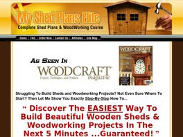 Go to: My Shed Plans - Insane Conversions! -12,000 Shed Plans