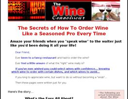 Go to: Wine Connoisseur.