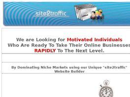 Go to: Site2traffic Super Fast Website Building Software