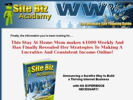 Go to: Site Biz Academy - The Ultimate Site Flipping Guide