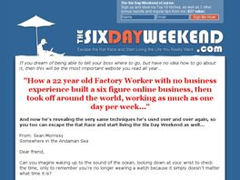 Go to: Six Day Weekend:: Kill Your Job And Live Anywhere
