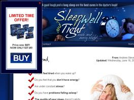 Go to: Sleep Well And Tight!