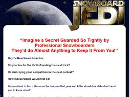 Go to: Snowboard Jedi Mental Snowboard Training System