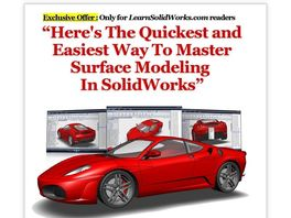 Go to: Solidworks Step-by-step Video Tutorial