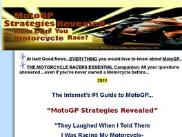 Go to: Motogp Strategies Revealed - Motorcycle Racing