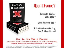 Go to: How To Win The X Factor