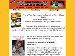 Go to: Take With Your Small Dog Everywhere
