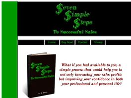 Go to: 7 Simple Steps To Successful Sales! - Just Launched!