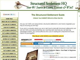 Go to: Structured Settlements Guide - Learn What You Must & Win Big!