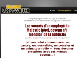 Go to: MasterCopywriter