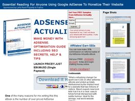 Go to: AdSense Actuality - How To Really Make Money With Your Website.
