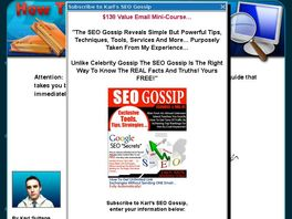 Go to: No B.s. SEO System - How I Dominated The Adware & Spyware Niche!
