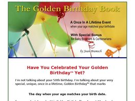 Go to: The Golden Birthday Book.