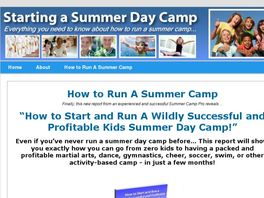 Go to: How To Start A Kids Summer Day Camp - Real Money Maker!!!