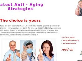 Go to: Latest Anti - Aging Strategies