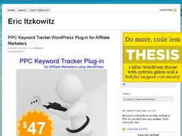 Go to: Must Have Affiliate Marketing Plug-in For Wordpress