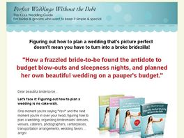 Go to: Wedding Planning Guides: Plan The Perfect Wedding Without The Debt