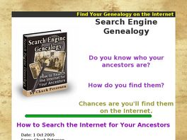 Go to: Search Engine Genealogy.