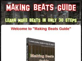 Go to: Don't Miss Out On The Biggest Beat Making Guide Mega Launch Of 2012!!!