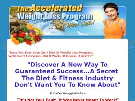 Go to: The Accelerated Weight Loss Program...That Never Fails!