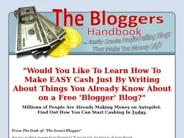 Go to: The Bloggers Handbook.