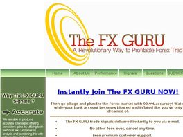 Go to: The FX Guru - 100% Accurate Forex Signals.