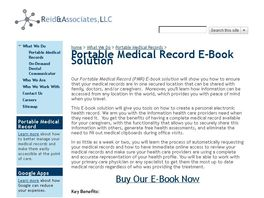Go to: Portable Medical Records Solution