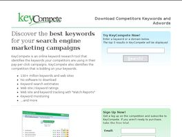 Go to: Download Competitors Keywords And Adwords.
