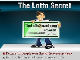 Go to: The Lotto Secret - Brand New In The Lottery Category