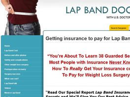 Go to: Lap Band Weight Loss Surgery Insurance Secrets