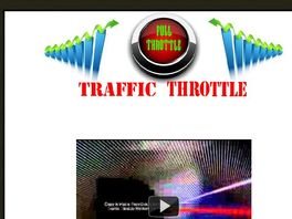 Go to: Traffic Throttle
