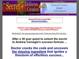 Go to: Dr. Robert Anthony - The Secret Of Deliberate Creation And More!