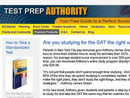 Go to: Test Prep Authority: Sat And Act Guides