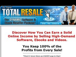 Go to: The Original Total Resale Rights Package MRR