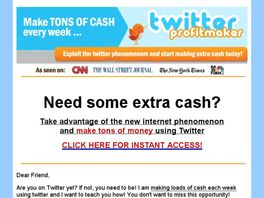 Go to: Twitter Profit Maker.