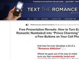 Go to: Text The Romance Back 2.0 - Relaunch Contest!