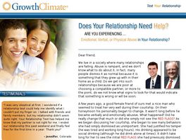 Go to: Test Your Relationship.