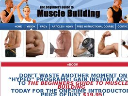 Go to: The Beginners Guide To Muscle Building