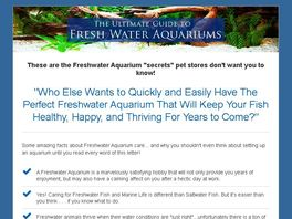 Go to: Ultimate Guide To Freshwater Aquariums