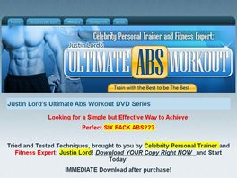 Go to: Ultimate Abs Workout Dvd Series By Celebrity Personal Trainer