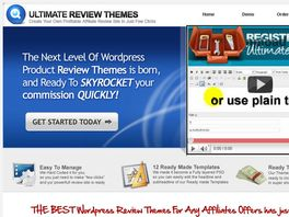 Go to: Ultimate Product Review Wordpress Themes 14% Conversions $1,43 Epc