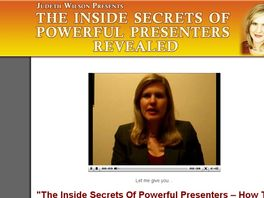 Go to: The Inside Secrets Of Powerful Presenters